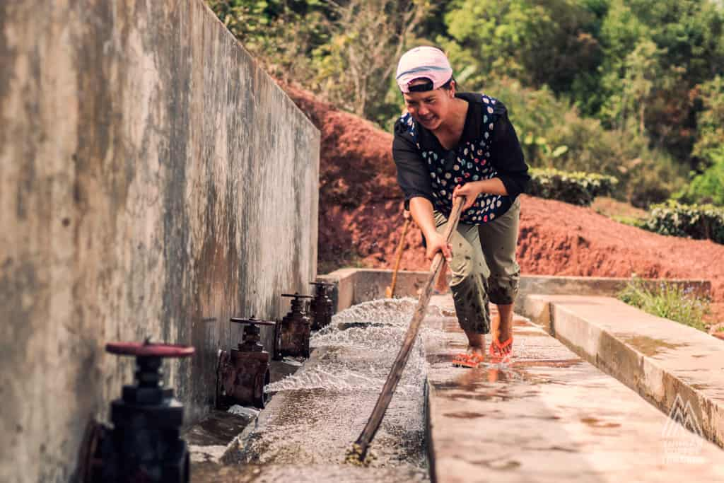 Working Hard to Make Better Coffee and Less Waste